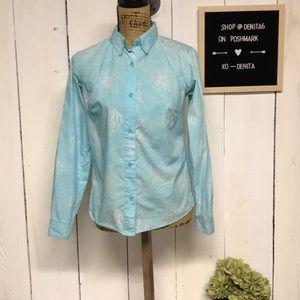 Columbia PFG Button Down Long Sleeve Shirt Size XS